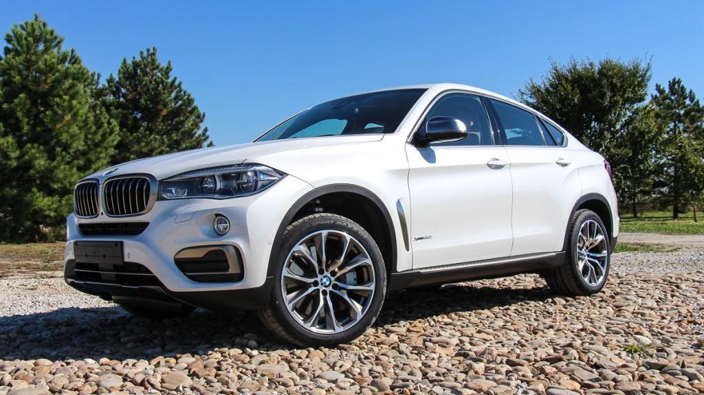 Ohne Nummernschild an der Front – mit dem neuen BMW X6 durch die USA ...